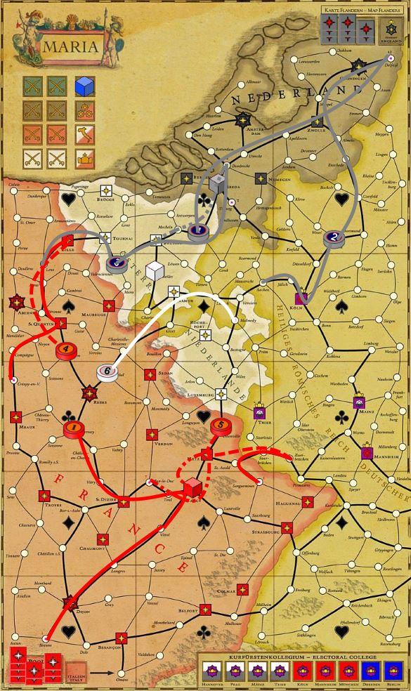 1741г Фландрия