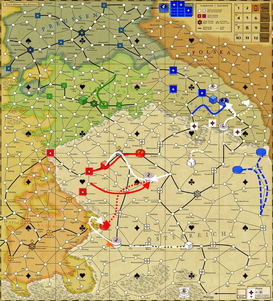 1741г. Богемия