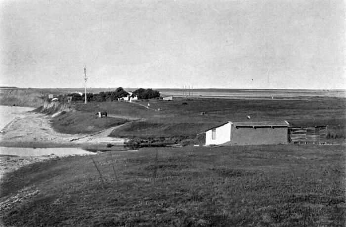 Позиции 2го батальона Минского полка возле деревни Аклекс