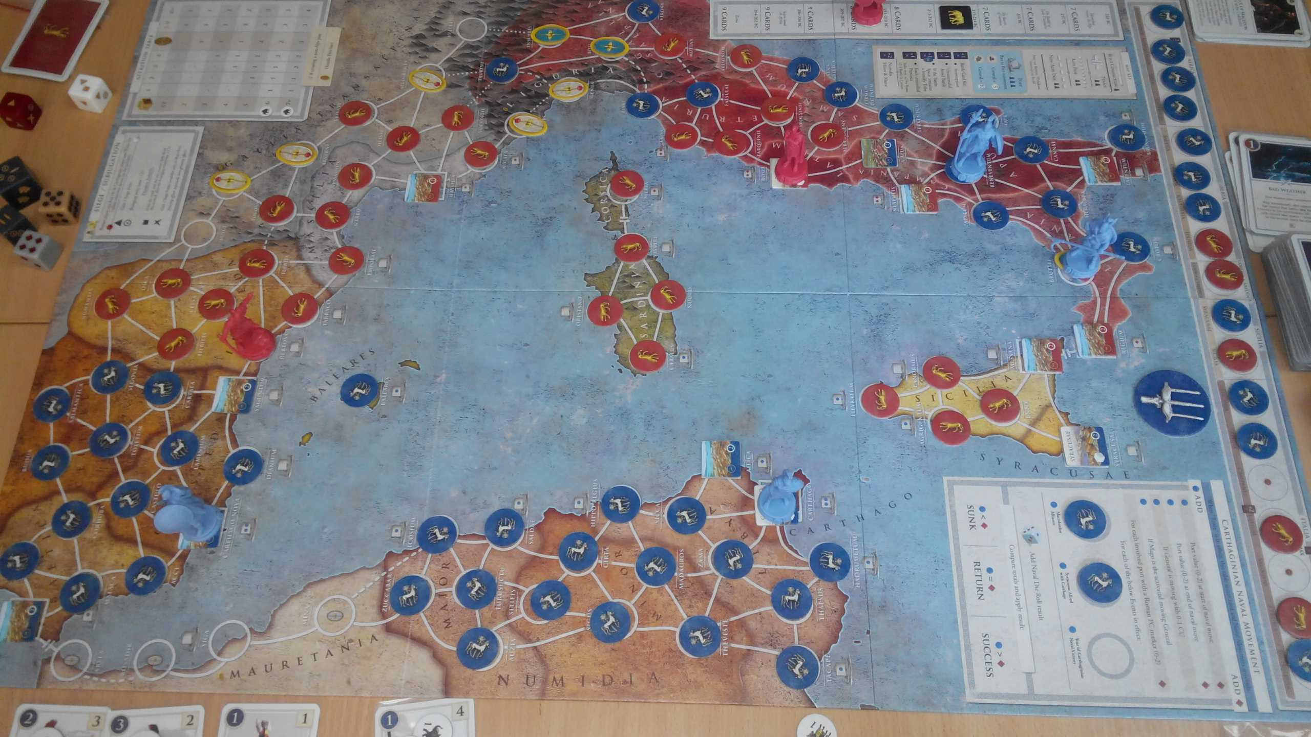 Hannibal & Hamilcar. Turn 1. 215 – 214 B.C.