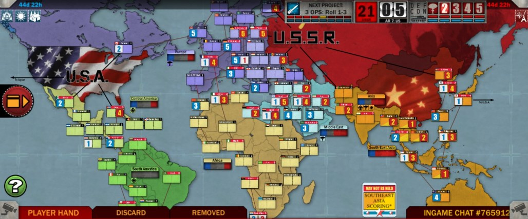 Сумеречная Борьба. #1. Победа СССР