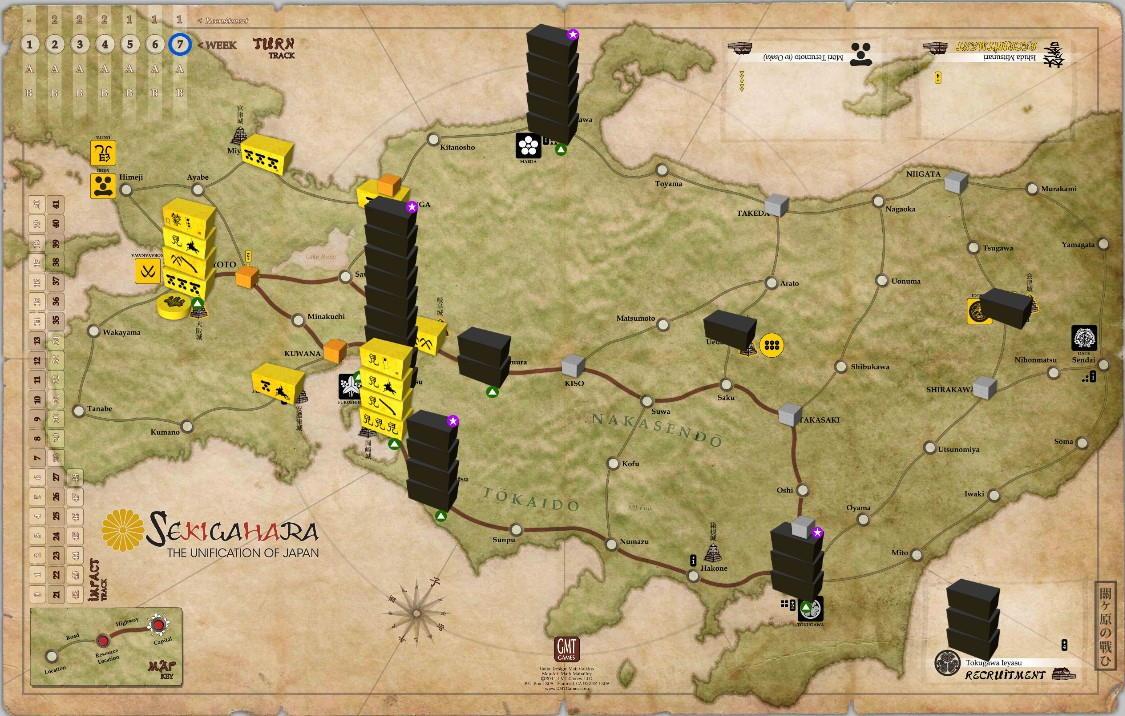 Sekigahara. 13 на 14