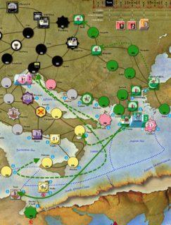 Virgin Queen. #1. Turn 2. Средиземное Море и Балканы